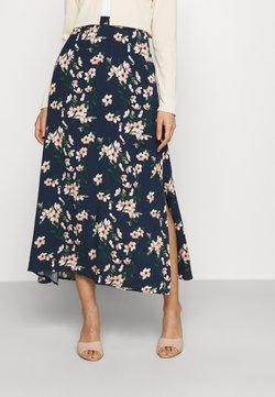 Vero Moda - VMSIMPLY EASY SKIRT - Jupe longue - navy blazer