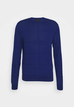 Emporio Armani - Strickpullover - royal blue