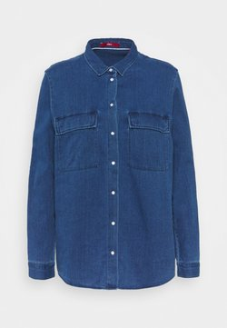 s.Oliver - Bluse - blue denim