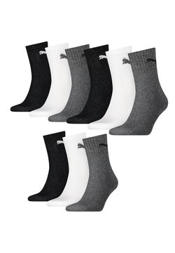 Puma - 9 PACK  - Sportsocken - 882 - grey/white/black
