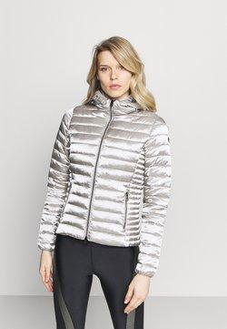 Champion - HOODED JACKET - Winter jacket - silver