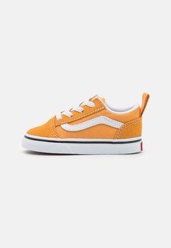 Vans - OLD SKOOL ELASTIC LACE UNISEX - Sneakers basse - golden nugget/true white