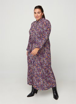 Zizzi - Vestido camisero - purple
