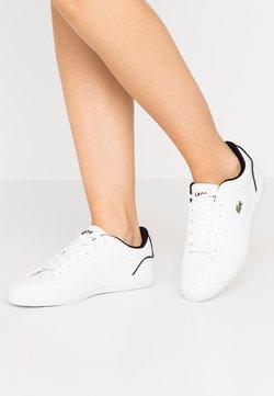 Lacoste - LEROND  - Sneaker low - white/black