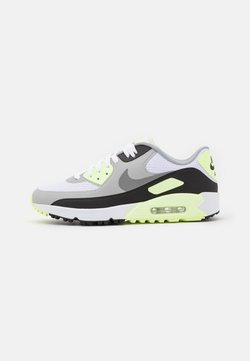 Nike Golf - AIR MAX 90 G - Golfschuh - white/particle grey/black/light smoke grey