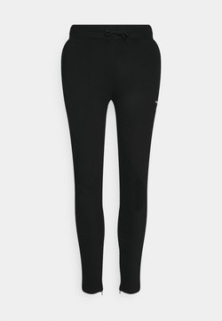 Good For Nothing - ESSENTIAL JOGGER WITH RUBBER BADGE - Jogginghose - black