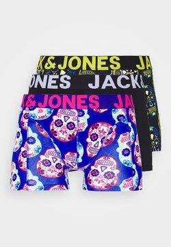 Jack & Jones - JACCOLORFULL SKULL TRUNK 3 PACK - Panties - blazing yellow/surf the web/black