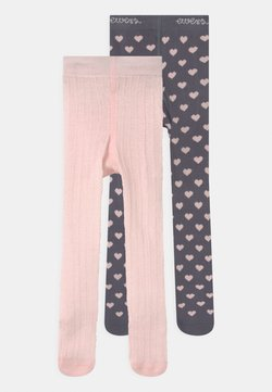 Ewers - HEARTS 2 PACK - Panty - grey/pink