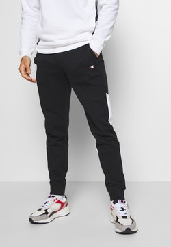 Champion - LEGACY MODULAR BLOCKING CUFF PANTS - Spodnie treningowe - black
