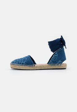 MAX&Co. - GILDA - Sandalen - denim blu