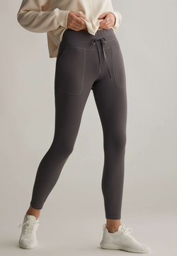 OYSHO - COMFORT - Tights - dark grey