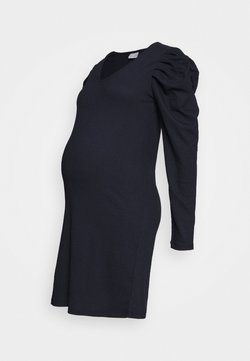 MAMALICIOUS - MLKIRE DRESS - Vestido de tubo - navy blazer