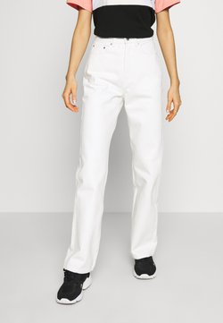 Weekday - ROWE  - Jeans relaxed fit - white