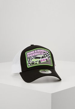 New Era - PATCH TRUCKER - Lippalakki - black