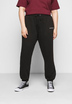 Missguided Plus - OVERSIZED 90S - Jogginghose - black