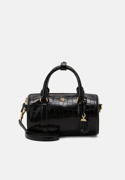Lauren Ralph Lauren - ZOEY SATCHEL SMALL BARREL - Torebka - black