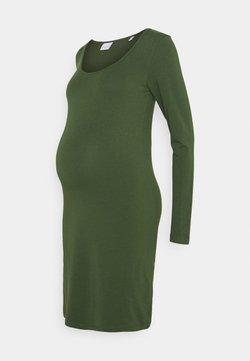 MAMALICIOUS - MLAYA SHORT DRESS - Vestido ligero - black forest