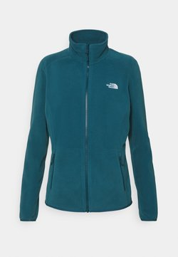 The North Face - WOMENS GLACIER FULL ZIP - Fleecejacke - monterey blue