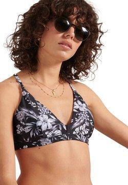Superdry - Bikini-Top - black hawaiian