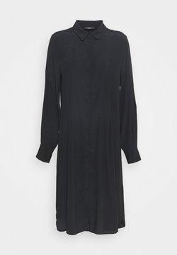 Bruuns Bazaar - LILLI VALENTINA  - Vestido camisero - black