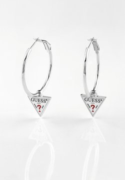 Guess - HULA HOOPS - Earrings - argent