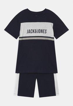 Jack & Jones Junior - BLOCK CREW NECK SET - T-shirt imprimé - navy blazer