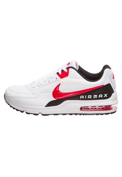 Nike Sportswear - AIR MAX - Sneakers laag - white / university red / black