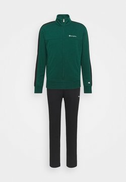 Champion - FULL ZIP SUIT SET - Trainingsanzug - green/black