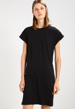 Moss Copenhagen - ALVIDERA ADDI PLAIN DRESS - Jerseykleid - black