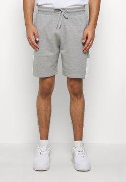 CLOSURE London - SCRIPT SIDE PANELLED  - Spodnie treningowe - grey