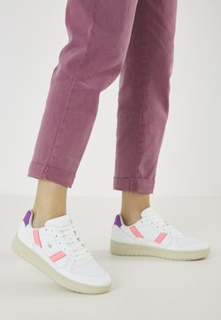 British Knights - RAWW - Sneaker low - white/neon peach/purple