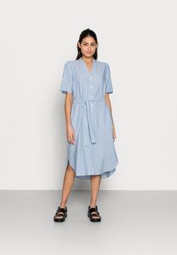 Moss Copenhagen - MAKITA BEACH SHIRT DRESS - Blusenkleid - powder blue