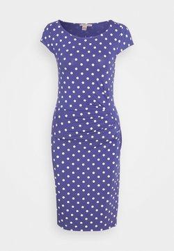 Anna Field - Shift dress - white/blue