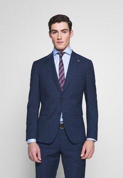 Tommy Hilfiger Tailored - SLIM FIT PEAK LAPEL SUIT - Anzug - blue