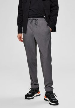 Selected Homme - ELEGANTE  - Stoffhose - grey