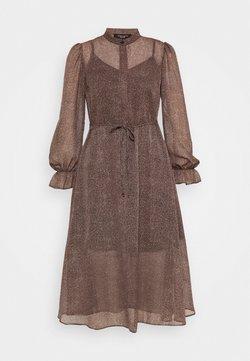 New Look Petite - MINI ANIMAL MIDI DRESS - Korte jurk - brown pattern