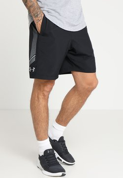 Under Armour - GRAPHIC SHORTS - Träningsshorts - black/steel
