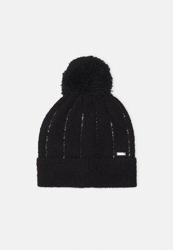 Armani Exchange - BEANIE HAT - Mütze - black