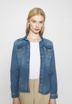 ONLY - ONLROCK LIFE  - Camicia - light blue denim
