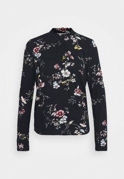 Cream - DIBA TURTLENECK - Langarmshirt - black/white