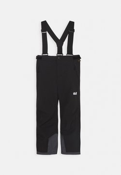 Jack Wolfskin - GREAT SNOW PANTS KIDS - Täckbyxor - black
