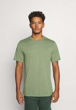 Nike Performance - DRY TEE YOGA - T-Shirt basic - galactic jade/oil green