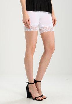 Cream - MATILDA BIKER - Shorts - optical white