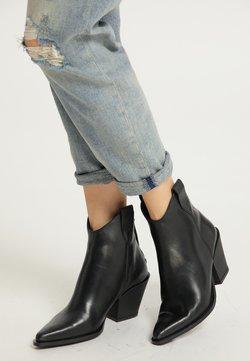 usha - High Heel Stiefelette - schwarz
