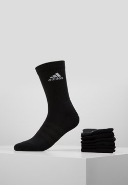 adidas Performance - CUSH 6 PACK - Urheilusukat - black