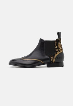Melvin & Hamilton - SALLY  - Ankle Boot - black/gold