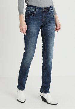 TOM TAILOR - ALEXA - Jeans Straight Leg - mid stone wash denim blue