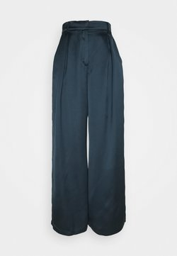 NU-IN - PALAZZO PANTS - Stoffhose - blue
