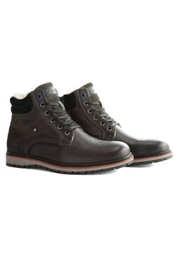 Travelin - STORDAL - Schnürstiefelette - dark grey