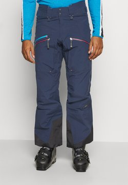 State of Elevenate - MEN'S BACKSIDE PANTS - Täckbyxor - dark blue